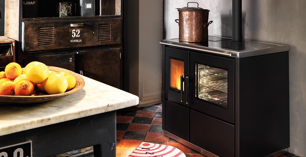 AICO-RAVELLI cuisinière à granulés modèle MIA90